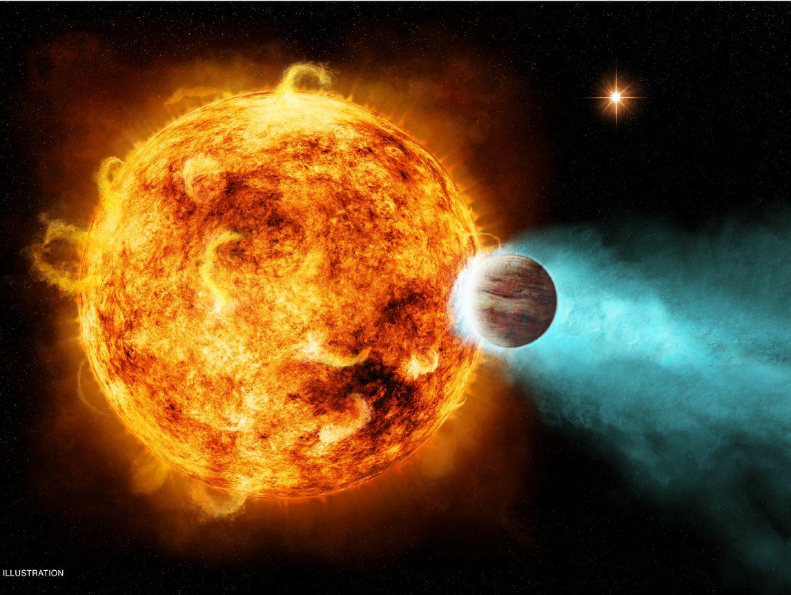 Planet X Between Earth and Sun widescreen wallpaper