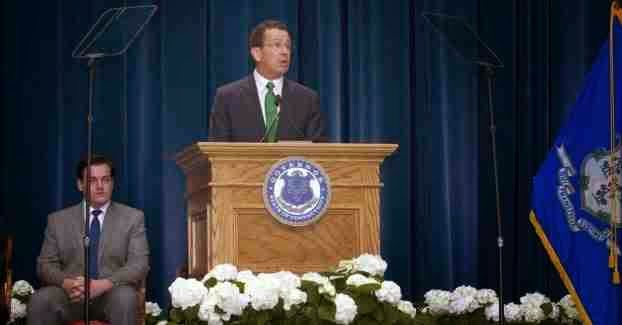 CT Governor Malloy speaking at a press conference, photo provided by Connecticut Governor's website