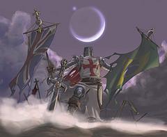 Cavaleiro Templário - por Lióh AC