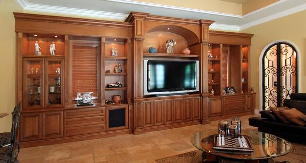 Latest wooden cupboard designs an interior design - Woodwork design for living room ...