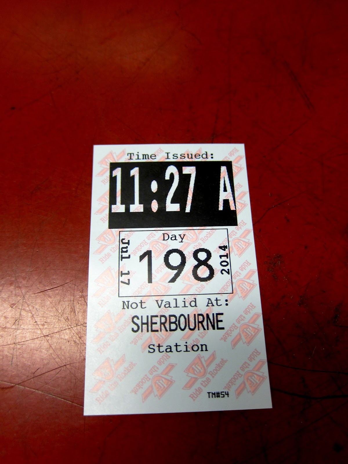 Sherbourne station transfer
