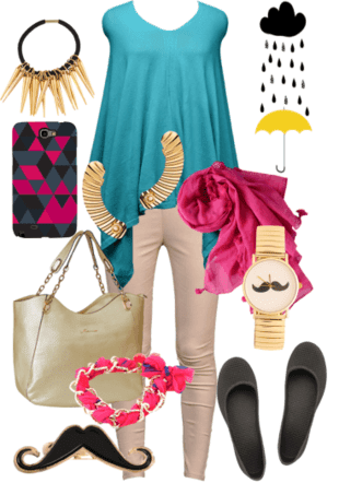 My #LimeRoadBlogFest Monsoon Look with LimeRoad.Com