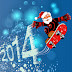 Christmas and new year 2014 wallpaper