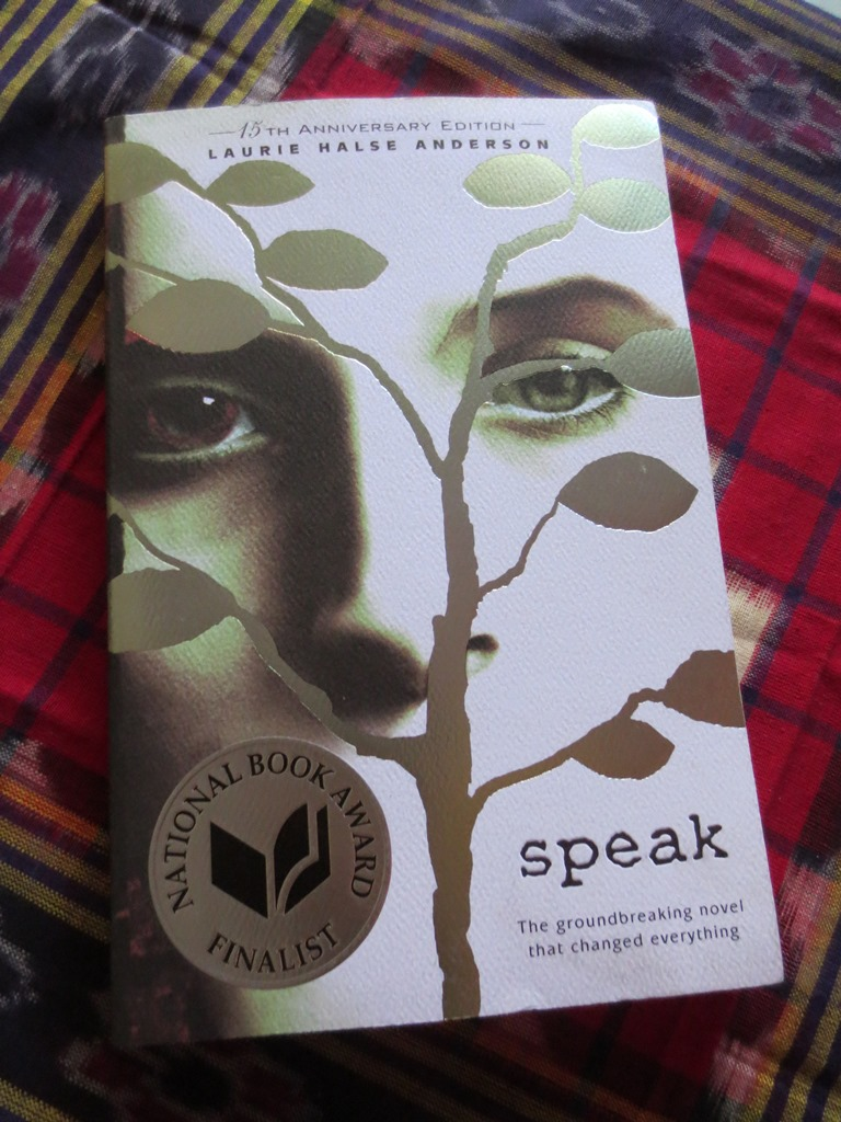 speak by laurie halse anderson book Behind the controversy, however, is a powerful book about finding your voice   cover of the novel speak by laurie halse anderson.