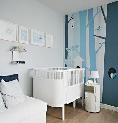 Decorole dormitorio infantil vinilos for Dormitorio infantil bosque