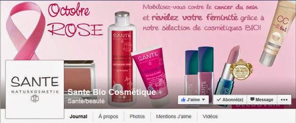 Santé Naturkosmetik sur facebook
