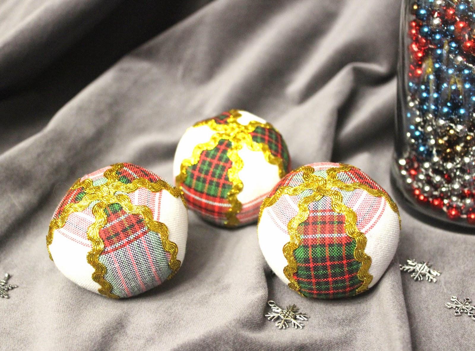 мягкие шары для елки