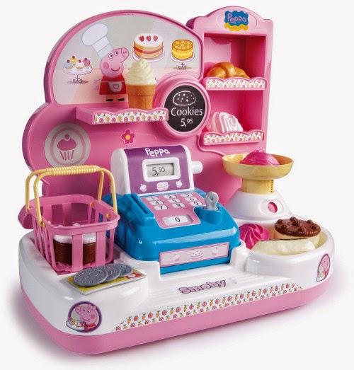 JUGUETES - PEPPA PIG - Pastelería  Producto Oficial | Smoby 24202 | Edad: +2 años