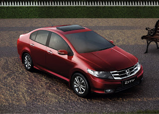 Photo: New facelift version of 2012 Honda City Front