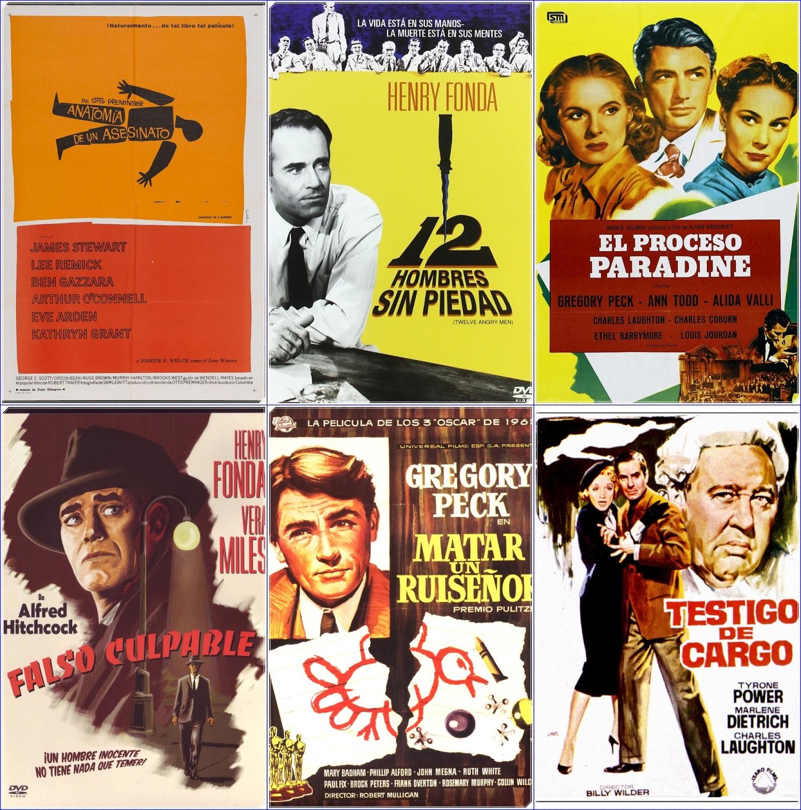 LINTERNA MÁGICA: El proceso judicial a través del cine