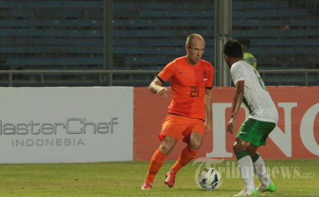 Robben Gocek Timnas Indonesia