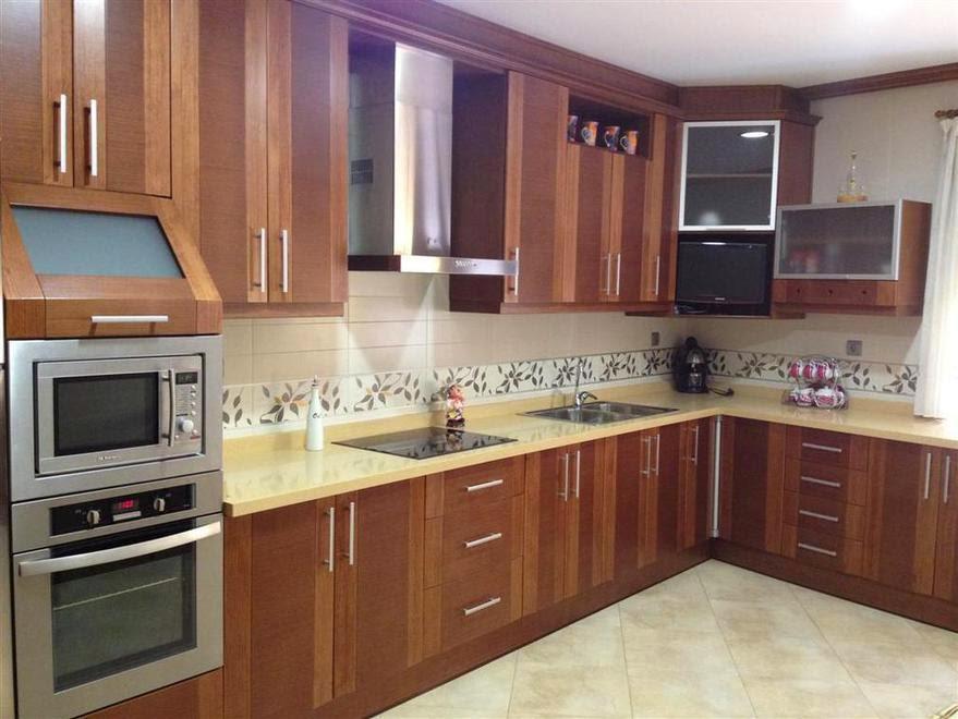 10 consejos basicos para la reforma de cocinas con madera for Modelos de muebles de cocina modernos