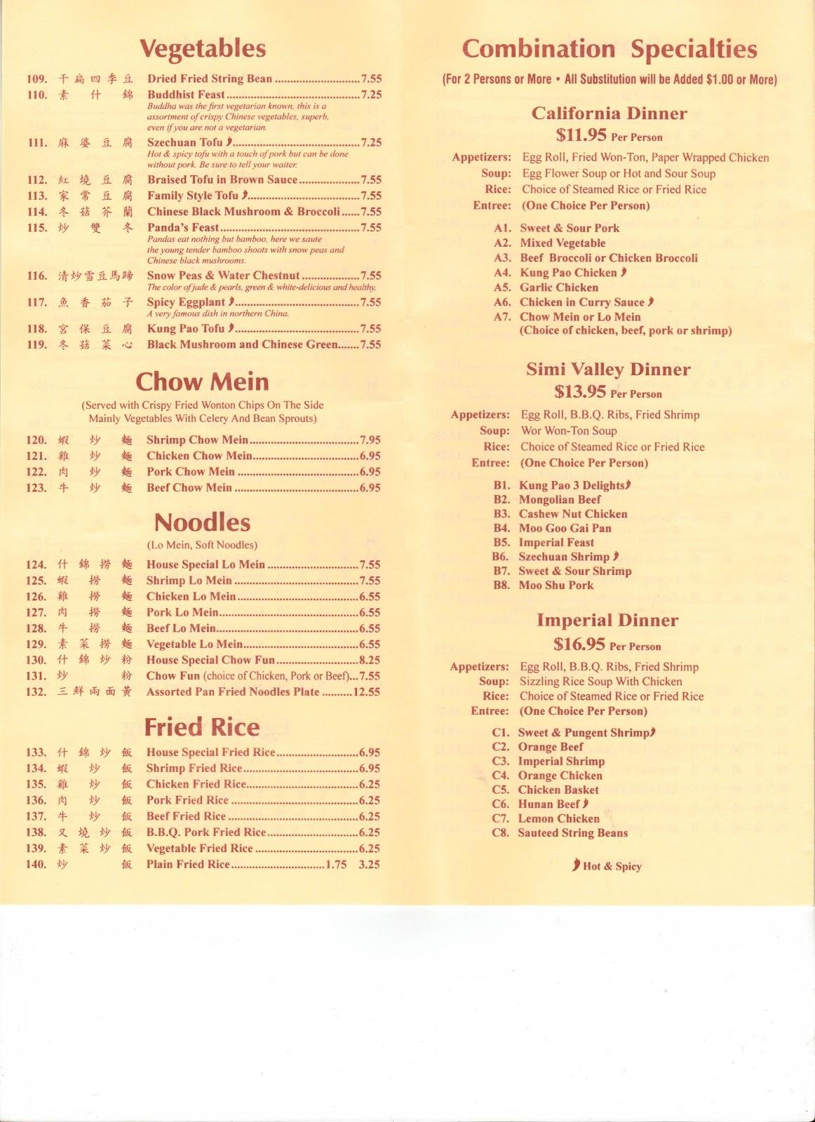 Imperial Garden Chinese Restaurant Newport Pagnell Menu Garden Ftempo