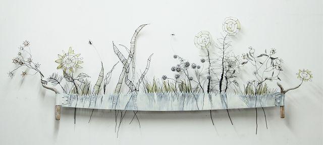 textile art forum: patricia brunner - geschichten aus draht, Garten ideen