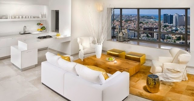Ultra Luxury Living Room Color Schemes With Shiny Golden