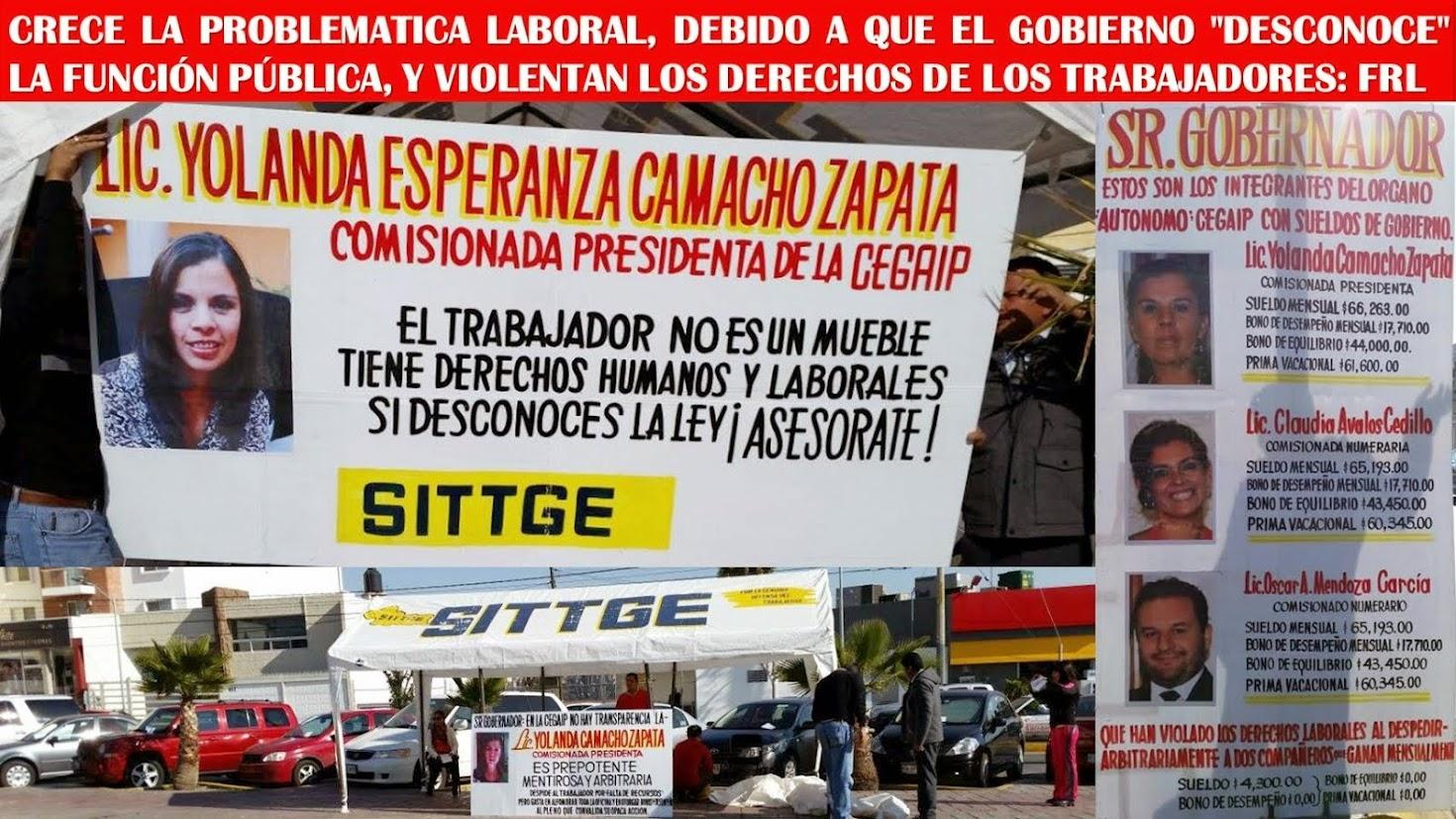 ¡ATACA EL SITTGE A YOLANDA CAMACHO ZAPATA!