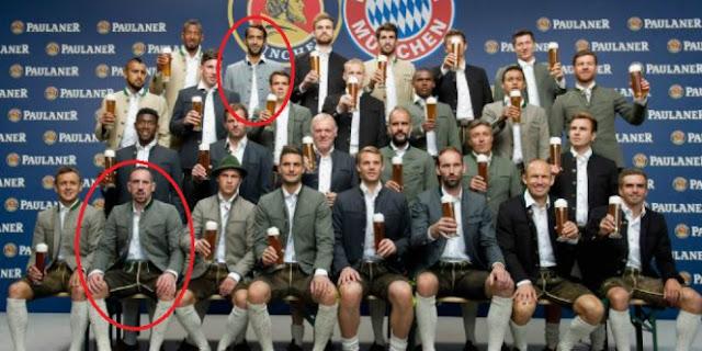 Dua Pemain Bintang Bayern Munchen Ini Tetap Konsisten Tolak Pegang Bir