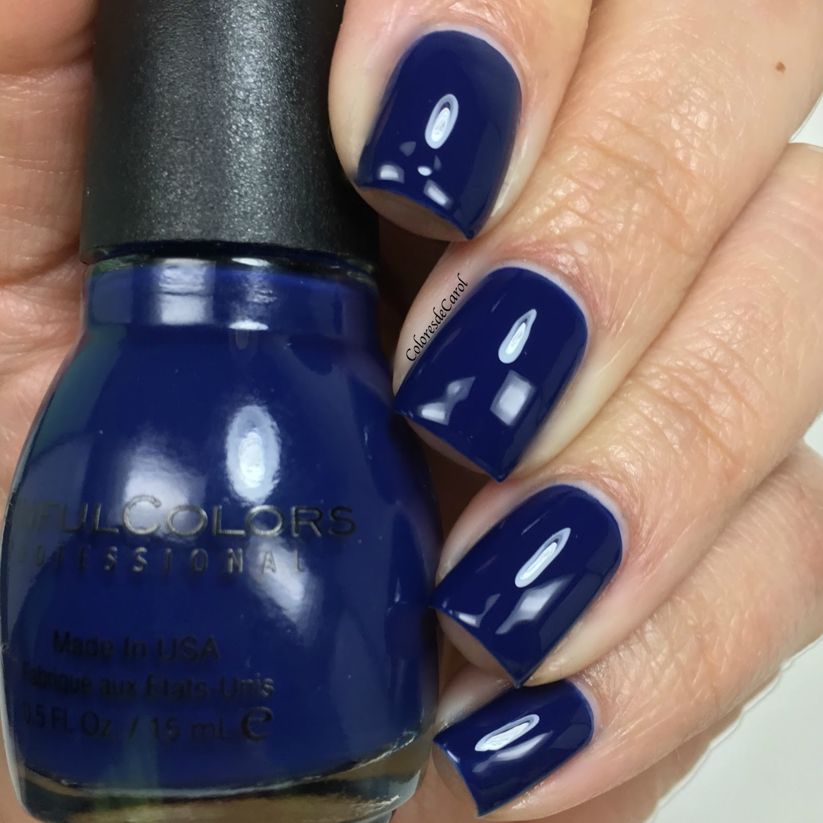Colores de Carol: SinfulColors Navy I Do and Zest Of Times