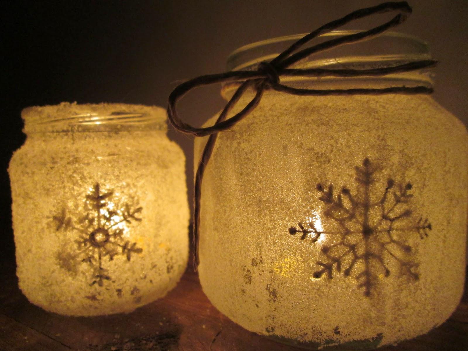 diy velas navidad decoracion