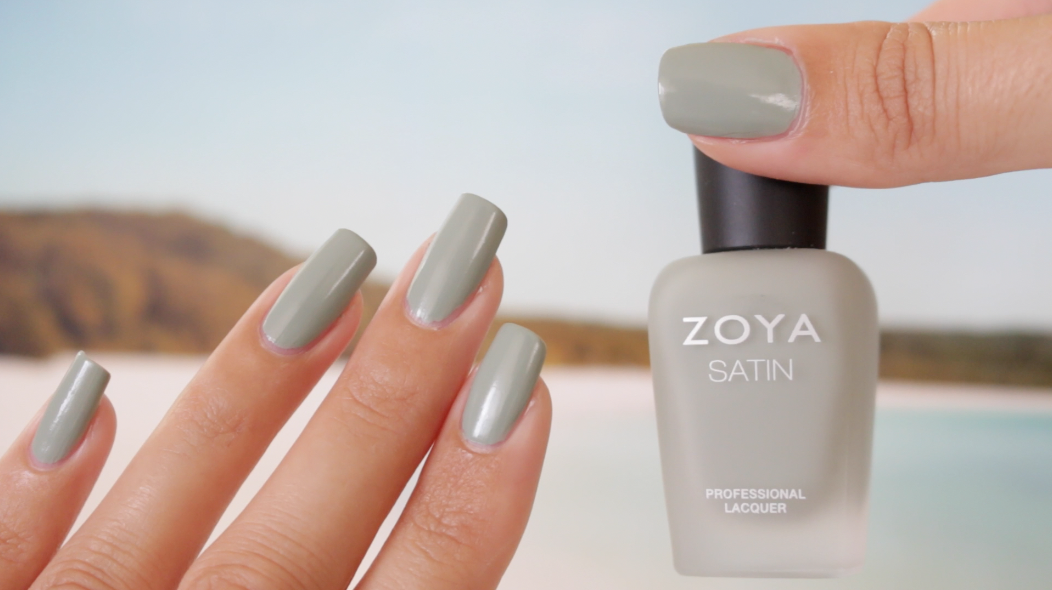 Zoya Sage Satin Swatches