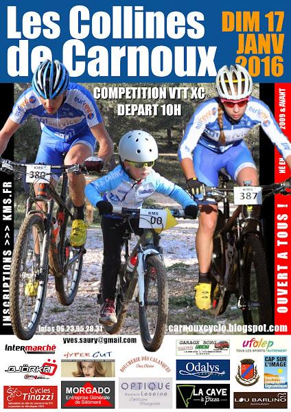 carnoux cyclo v u00e9lo club  les collines de carnoux vtt xc 2016