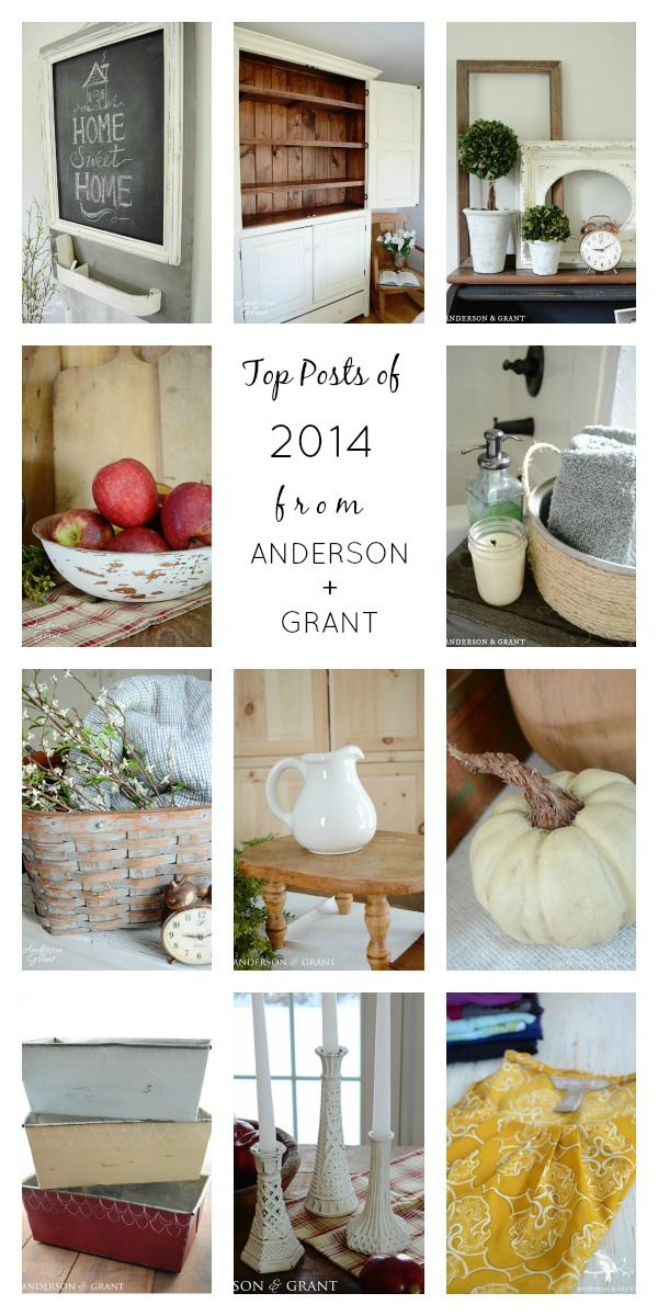 Top Posts of 2014 from anderson + grant | Inspiring decorating tips, DIY, and more!
