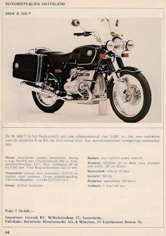 BMW R100/7 1977