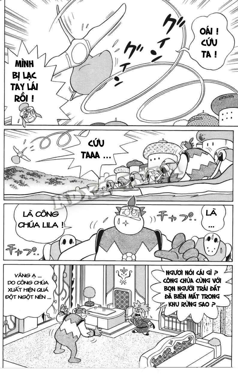Truyện tranh Doraemon Dài Tập 25 - Nobita và truyền thuyết thần rừng trang 111