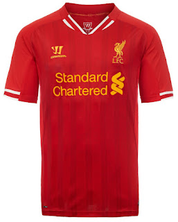 Liverpool 2013/14 Home Kit