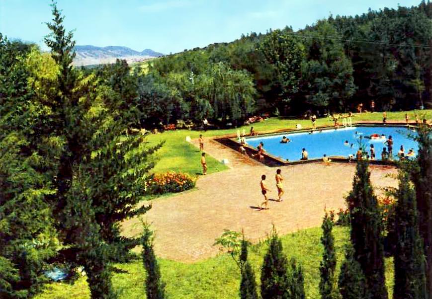 Retratos de portugal termas de monfortinho piscina do for Piscina climatizada campo de tiro salamanca