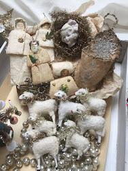 Jag samlar på antikt julgranspynt
