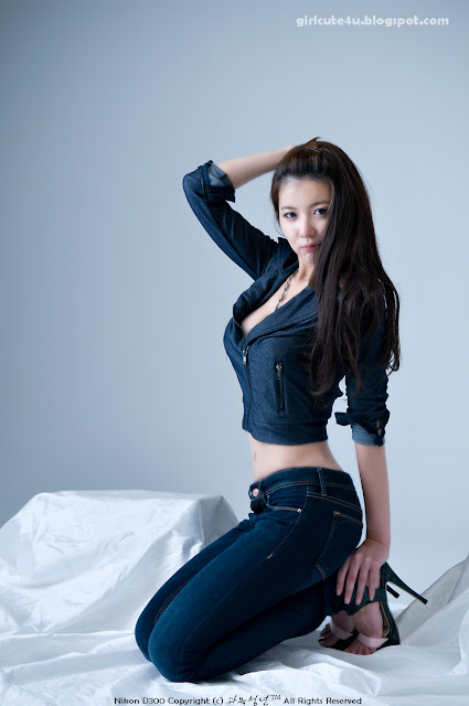 5 Jung Se On-Denim Girl-very cute asian girl-girlcute4u.blogspot.com