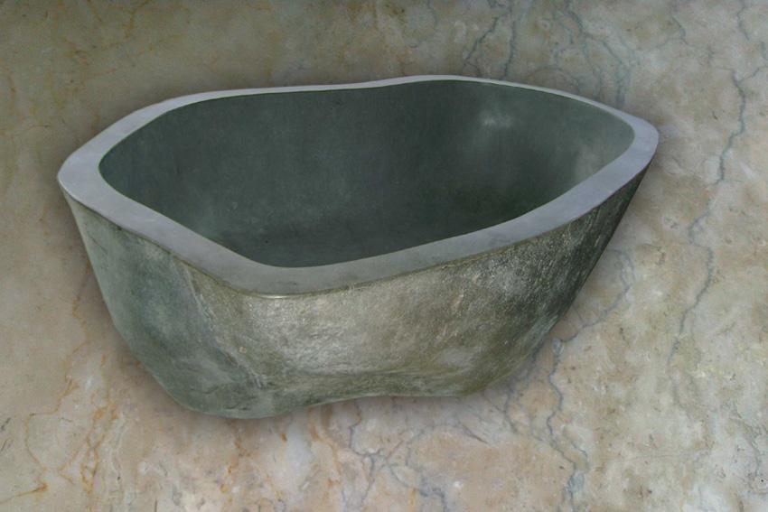 bathtub bak mandi natural stones kerajinan marmer