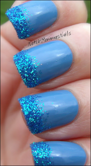 Zoya Yummy and Glitter Tips