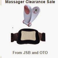 Flipkart: Buy JSB & OTO Massagers minimum 63% off from Rs.349