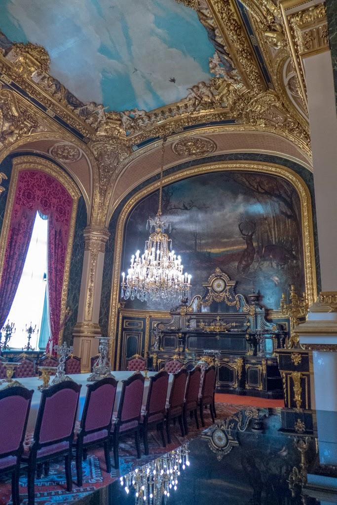 Paris France Louvre Napoleon rooms