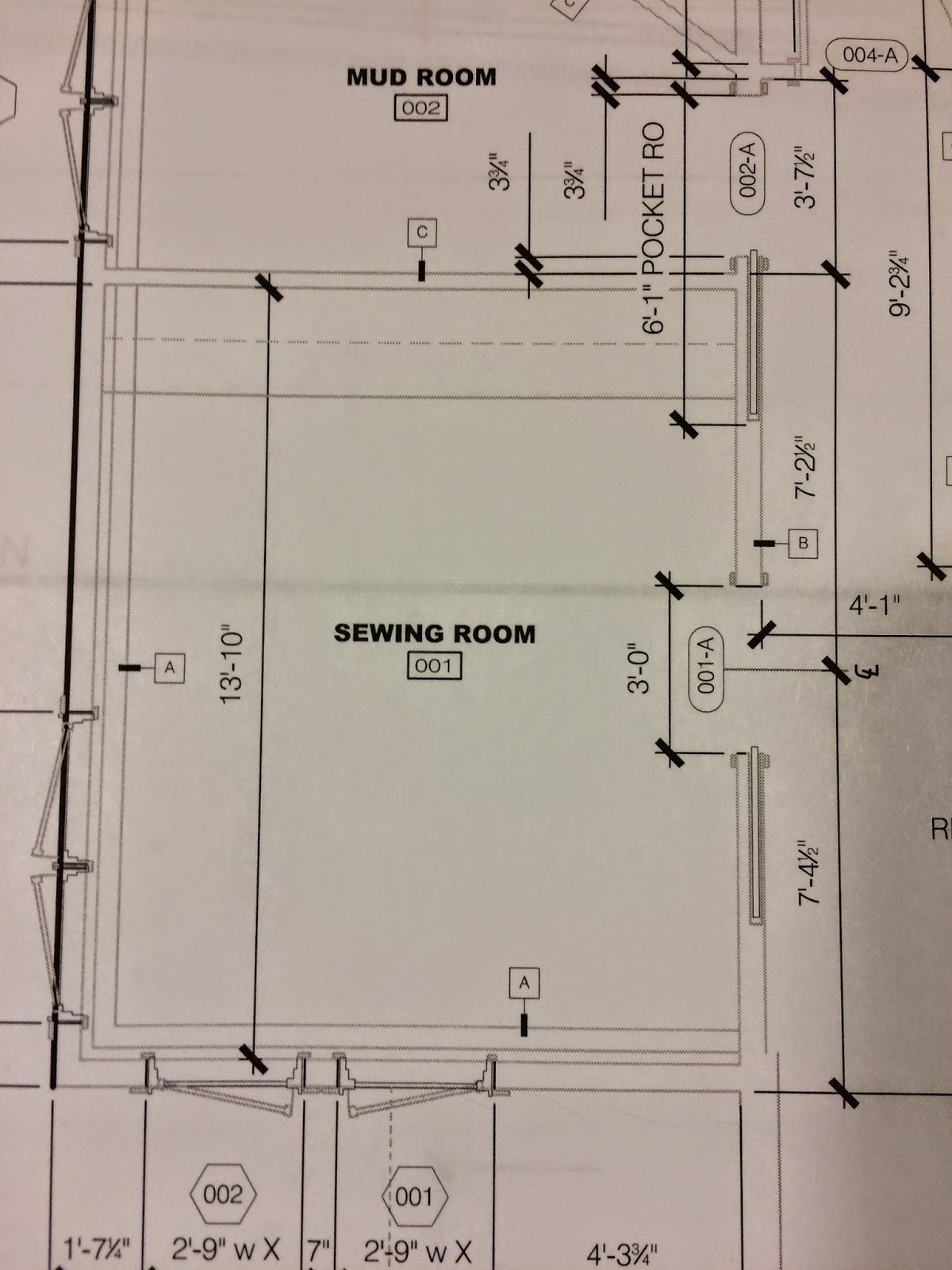 how to make a wall board for a sewing room