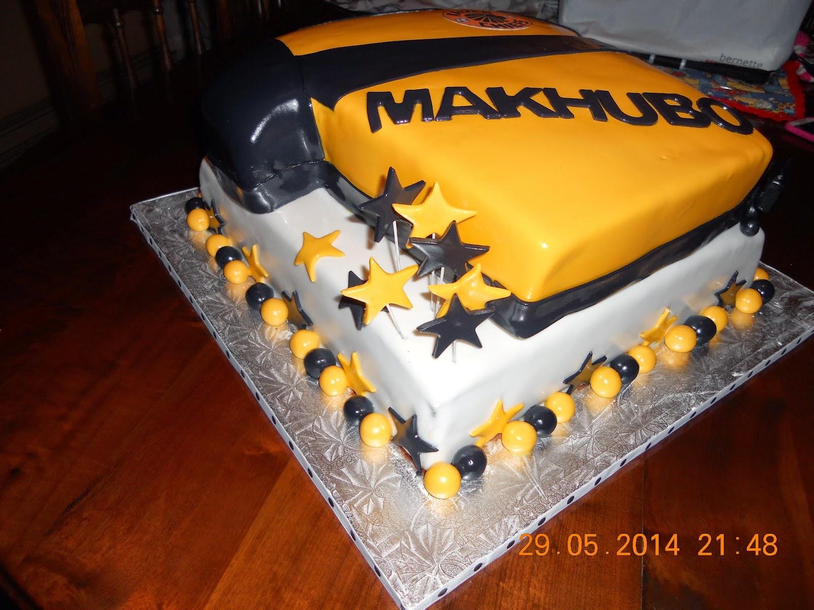Die Koekblik Kaizer Chiefs 50th Birthday Cake For Pastor Makhubo