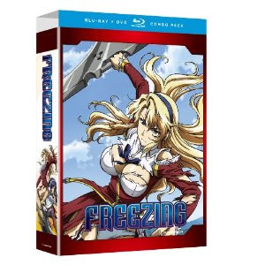 Freezing Anime Release Date Blu Ray DVD