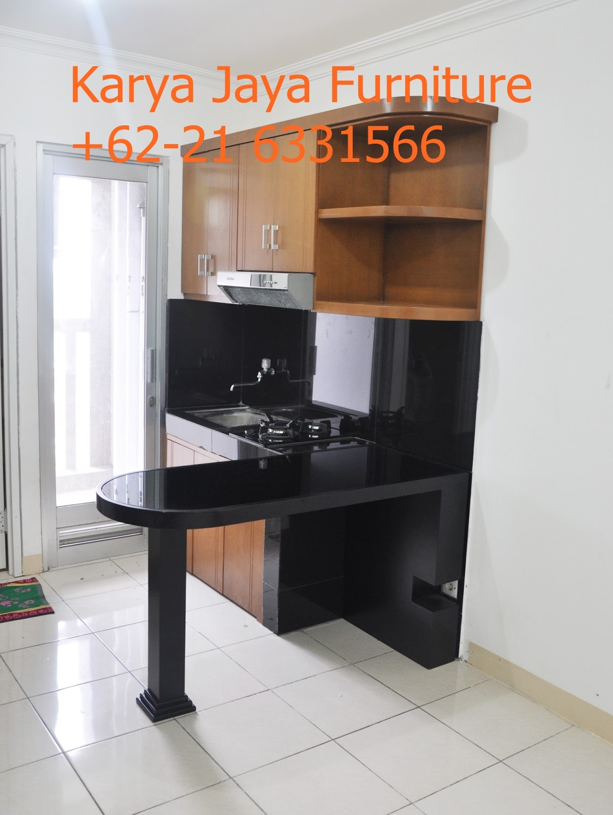 Karya jaya furniture roxy jakarta project kitchen set for Kitchen set jakarta