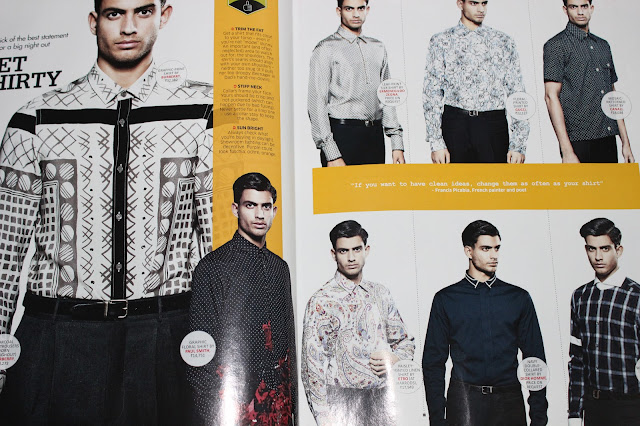 Printed Shirts for Men - GQ June 2013