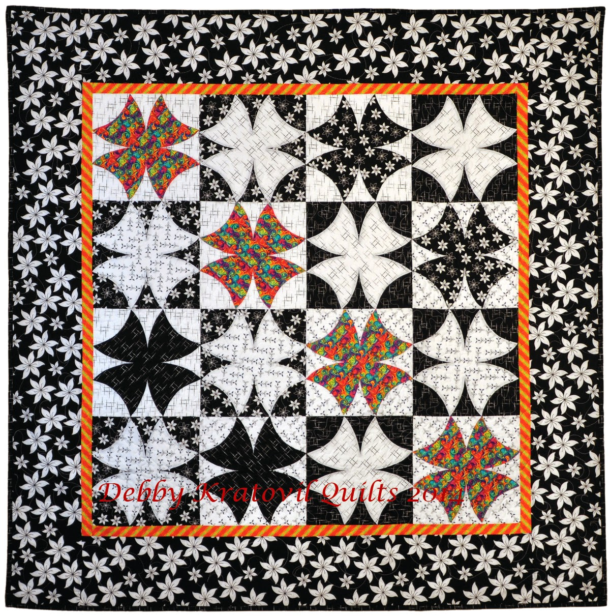 Debby Kratovil Quilts: Winding Ways Quilts
