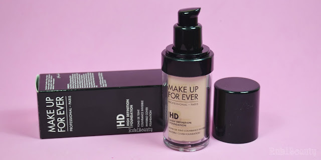 review HD foundation makeup forever