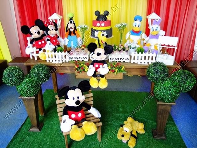 Decoração de festa Mickey Porto Alegre