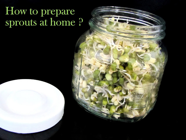 How to sprout moong dal at home