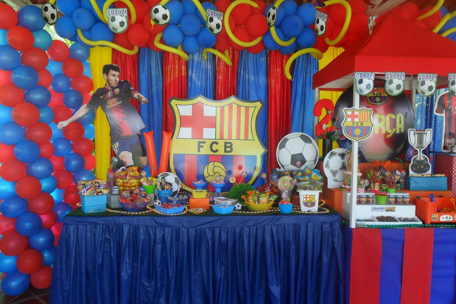 Ursula newman eventos fiesta f tbol for Decoracion deportiva