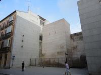 Plaza de la Muralla en calle Carretería, Centro Histórico de Málaga