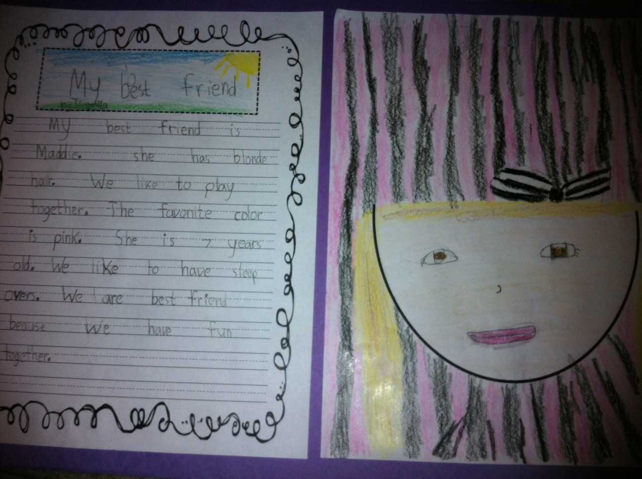 narrative essay about friendship cover letter example of personal  step into nd grade mrs lemons my best friend my best friend
