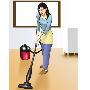 Before Cleaning Kitchen Floor, Check The Vacuum Cleaner And Its Bags.  Change The Vacuum Bag If It Is Worn Out. Vacuum Bags Should Be Cleaned  Regularly ...