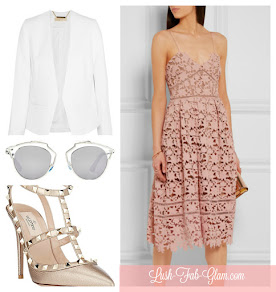 Style Inspiration: Lovely In Lace + Rose Quartz.
